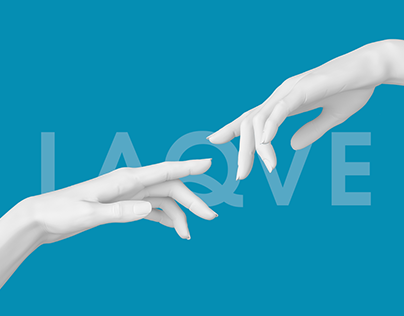 LAQVE: website for beauty saloon