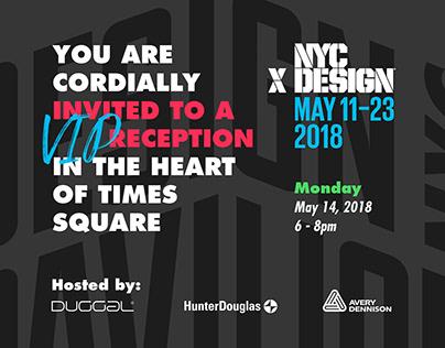 NYCxDesign · Event Invitation