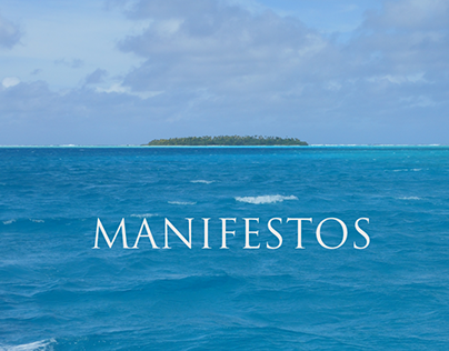 Various Clients | Manifestos or 'Brand Poetry'