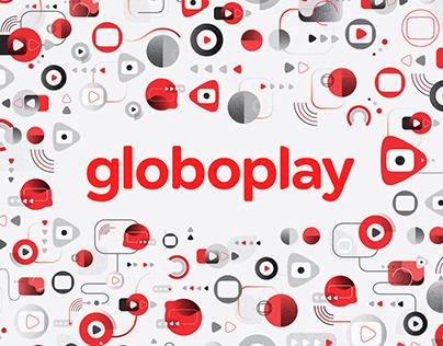 Estampas institucionais - Globoplay