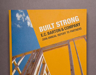 E.C. Barton Annual Report