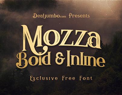 Mozza Bold & Inline – Free Font
