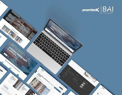 Desarrollo Sitio Web - Inmobiliaria BAI