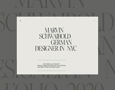 Marvin Schwaibold - Portfolio 2020