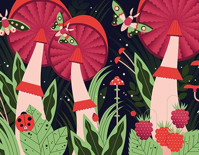 Wonderland: Illustrations for Ivanhoé Cambridge