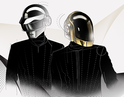 Daft Punk - Cover Art (Capital People Remix)