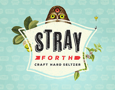 Stray Forth Craft Hard Seltzer Identity & Packaging