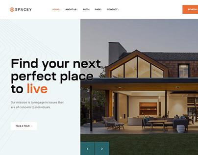 Spacy Single Property WordPress Theme Pavothemes