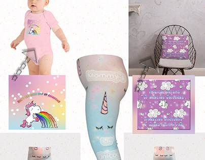 Magical Unicorn Baby Fasion