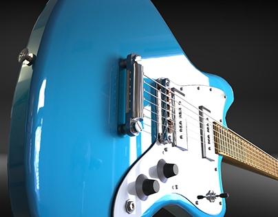 3D Fender Guitar
