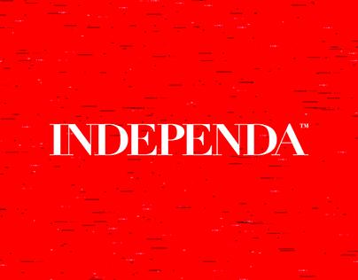 Independa Architecture Studio Identity Design