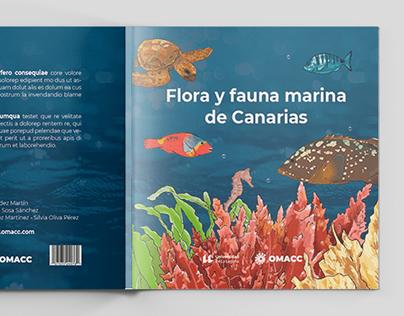 FLORA Y FAUNA MARINA DE CANARIAS - PRODUCTO EDITORIAL