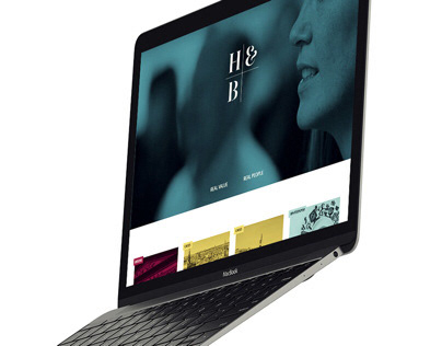 H&B - website design