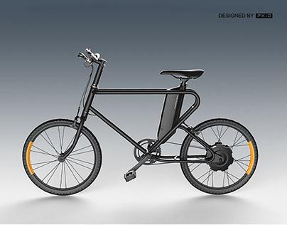 super cool e-bike design