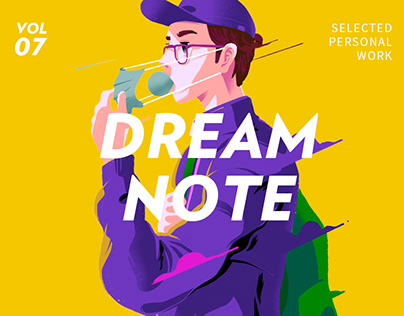 """""""dream note"""" selected personal work vol.7"""