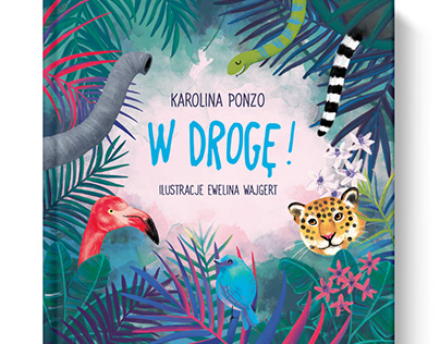 Illustrations to the book 'W droge' - K. Ponzo