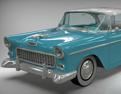 Chevy Belair Coupe 1955