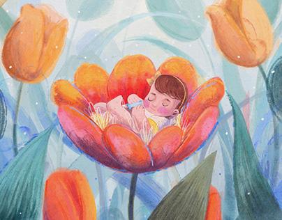 E.M / Miscarriage Day Art