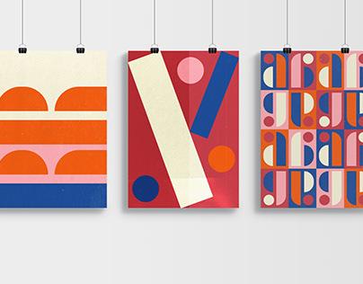 Bauhaus Dessau typographic visuals