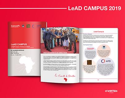 LeAD CAMPUS 2019, Brochure