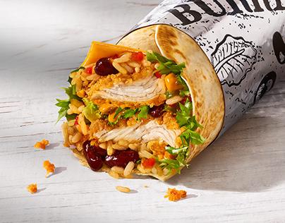KFC Burrito