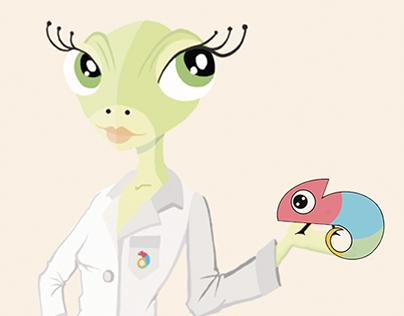 Idukay - Diseño de personaje