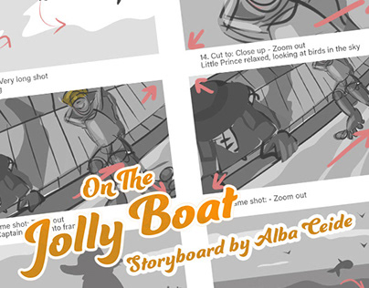 On The Jolly Boat - Storyboard