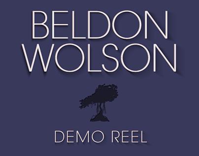 Beldon Wolson Motion Demo Reel