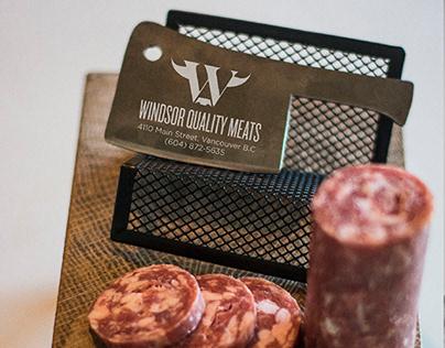 Windsor Meats Rebrand