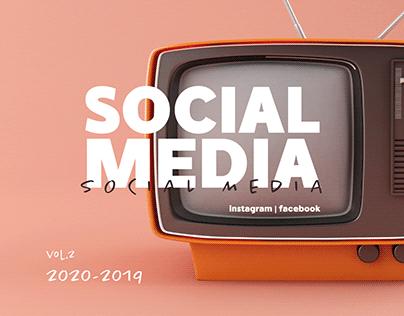 Social Media Vol.2 | 2019-2020
