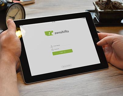 Zenshifts App UI/UX