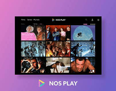 NOS PLAY - Redesign and On-boarding