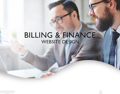 Billing & Finance Web Design