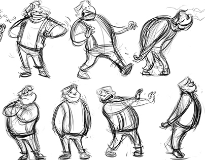 '' Rafadan Tayfa'' Personality & Gesture development