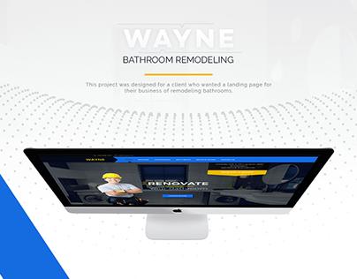 Bathroom Remodeling - Landing Page