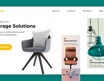 Furniture Web Page