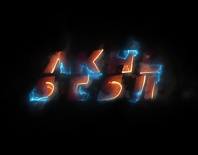 Akhil Sesh Logo Animation