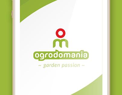 Ogrodomania logo