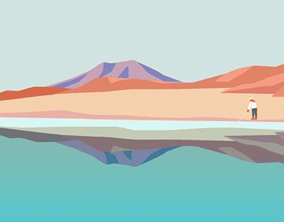 A.TA沙漠湖鹽宣傳動畫- A.TA Salt Promo