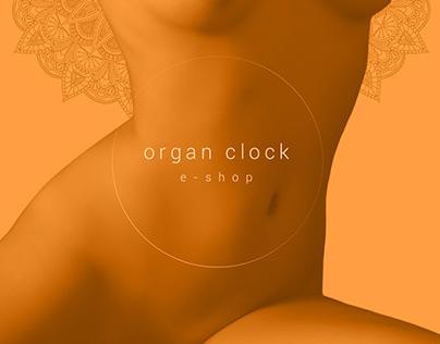 Organ clock website