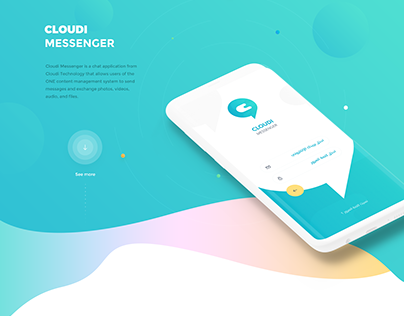 Cloudi Messenger UI/UX