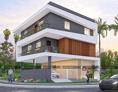 Modern House Design | Two Storey House Elevation