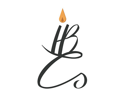 Honey Bee Candles Logo Design