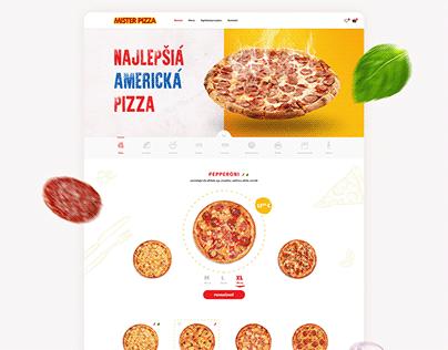 Mister Pizza - Brand, Webdesign