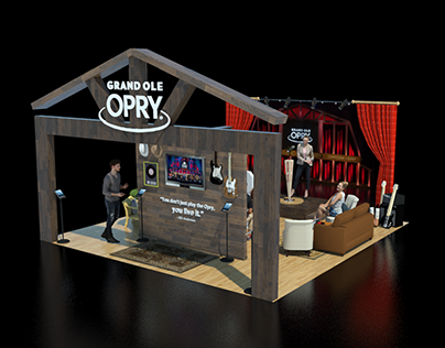 THE GRAND OLE OPRY BOOTH