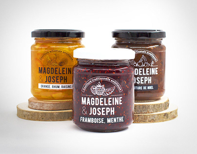 Magdeleine & Joseph - Branding