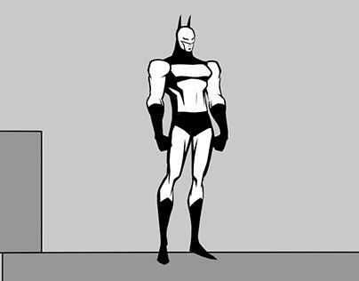 BATMAN dodging animation