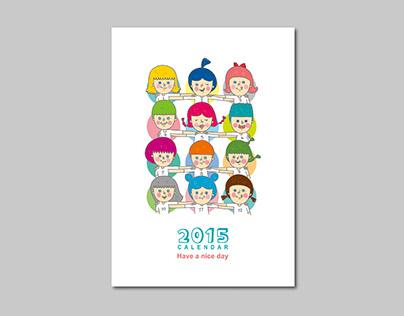 Competition / 2014健豪盃月曆設計
