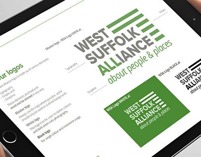 Branding – West Suffolk Alliance