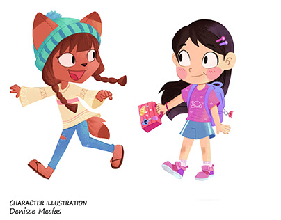 Character illustration and Prop Design